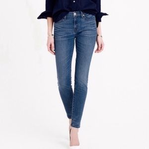 J. Crew Toothpick Jean In Payson Wash